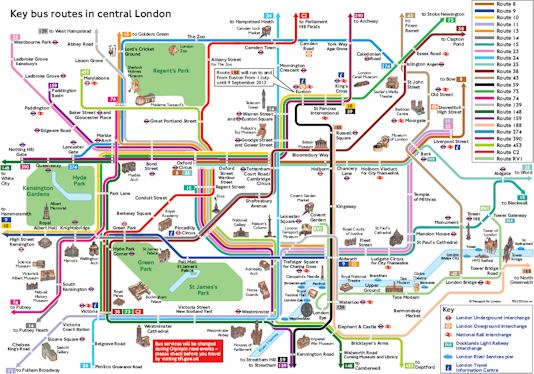 London Underground Tourist Attractions map RailUK Forums – Map Of London For Tourists
